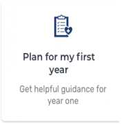 Plan for your first year: Get helpful guidance for year one