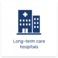 long-term care hospital icon